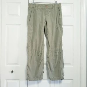 NIKE Size Large Khaki/Army Green Hiking Pants